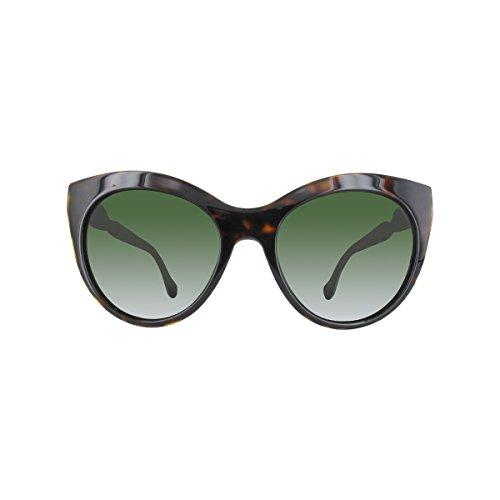 Balenciaga BA0051 C54 52N (dark havana / green) Sonnenbrillen