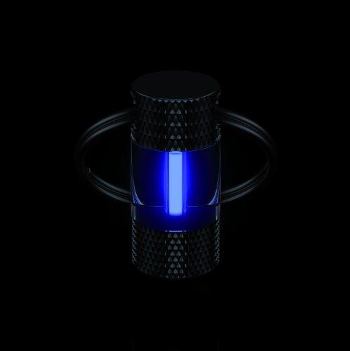 Traser H3 Schlüsselanhänger selbstleuchtend trigalight eisblau
