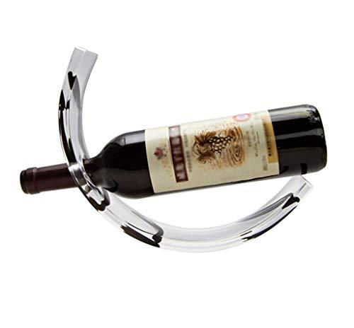 Giow Weinflaschenhalter Acryl Weinregal Bar Regalständer Rack