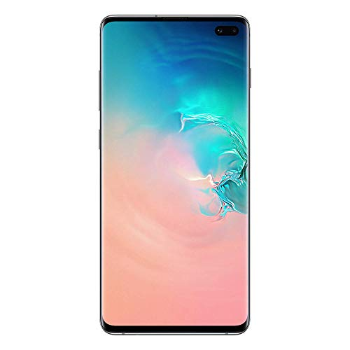 "Samsung Galaxy S10+ Smartphone, Bianco (Prism White), Display 6.4"", 128 GB Espandibili, Dual SIM [Versione Italiana]"
