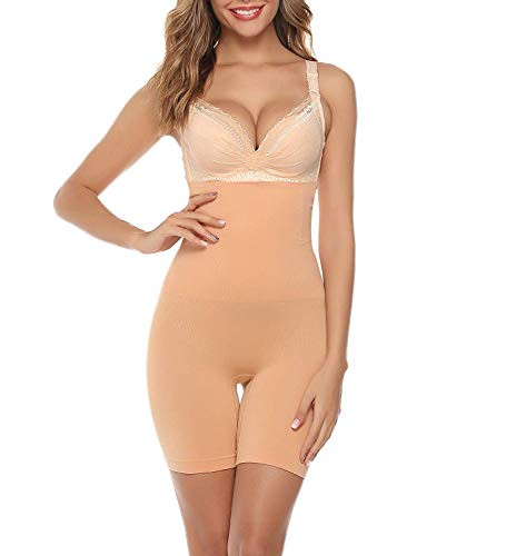 Iclosam intimo modellante da donna pantaloni dimagranti contenitiva a vita alta elastico morbidi pantaloncini body shaper guaina contenitiva shapewear perfetto per tutti i tipi di abbigliamento