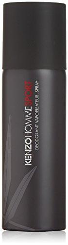 Kenzo pour Homme Sport homme/men, Deodorant, Vaporisateur/Spray 150 ml, 1er Pack (1 x 0.213 kg) -