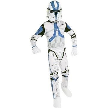 Kostüm Clone Trooper Star Wars 501st Legion für Kind (Star Wars Clone Trooper Kostüm Kinder)