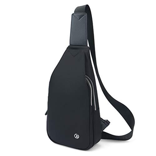 Brusttasche Herren Umhängetasche Lässig Oxford Tuch Kleiner Rucksack Outdoor Sports Diagonal Paket (größe : 18 * 32 * 8cm)