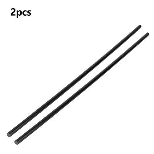 2 stücke POM längen von nylonstangen 50 cm/durchmesser 1 cm schwarze kunststoffstangen für die elektrische und medizinische automobilelektronik