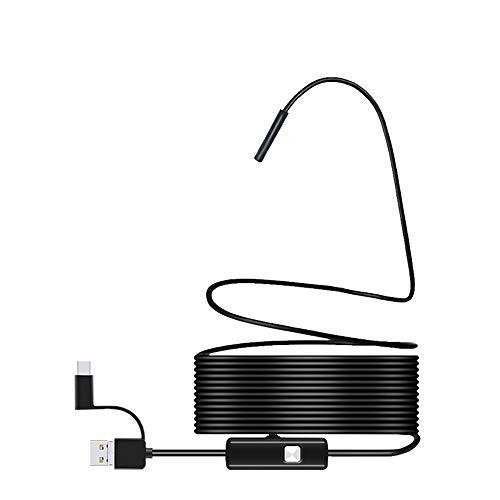 YDJGY Endoskop 8Mm Drei-In-Eins Mobilcomputer HD Handy Endoskop Wifi Endoskop Sichtbar Otoskop Ohrenschmalz Entferner