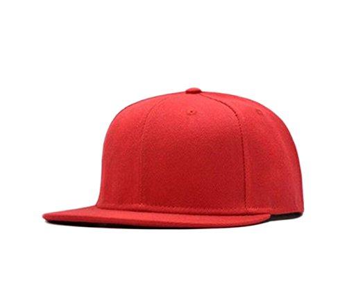 Mme été Panneau De Lumière Solide Barres De Lumière Du Soleil Marée Chapeau Casquette Casquette De Baseball Orange