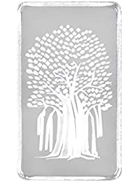 SHINE 999 purity Silver Bar Kalpataru Tree 10 grams