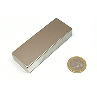 AimanGZ - Neodymium magnet block 8 x 3 x 1,5 cm