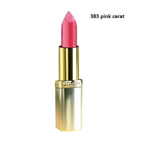 L'oréal-rouge à lèvres color riche -pink carat n°383