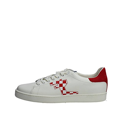 Serafini CAMP.22 Sneakers Uomo Pelle Bianco Bianco 42