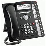 Avaya 1616-I BLK Téléphonie sur Internet Noir