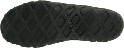 Merrell Mens Jungle Leather Slip-On Shoe Black