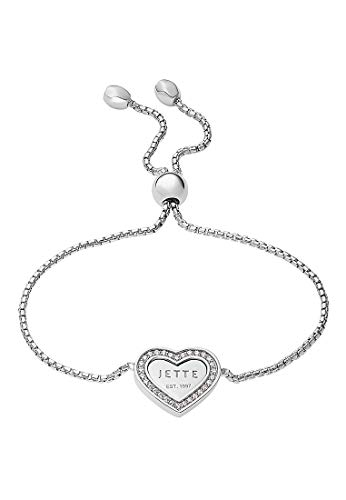 JETTE Silver Damen-Armband 925er Silber 30 Zirkonia One Size, silber