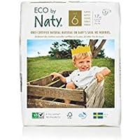 ECO par Naty Premium couches jetables pour les peaux sensibles, taille 6, 16 + kg, 6paquets de 17(102fils)