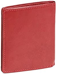 Porte-cartes LEAS, cuir véritable, cerise/rouge - ''LEAS Card-Collection''
