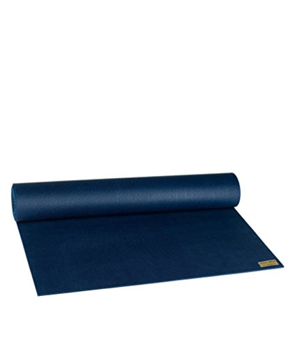 "Jade Travel Yoga Mat 1/8\"" x 74\"" (3mm x 61cm x 188cm) - Midnight Blue"