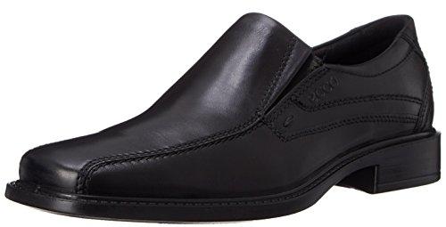 Ecco New Jersey 05150401001, Scarpe basse classiche uomo Nero(Black 1001)