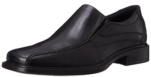 Ecco New Jersey 51504, Mocassins homme Noir (black01001)