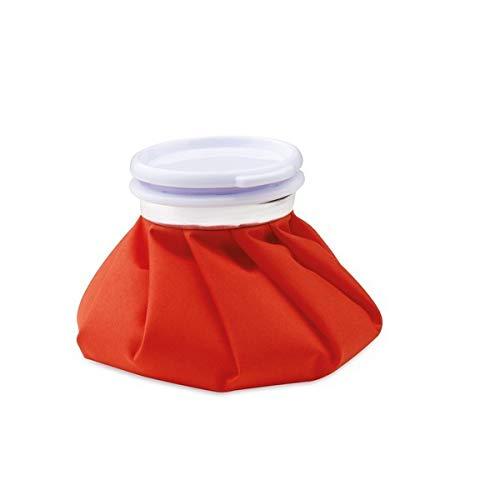 Eurowebb Wärmflasche für Warm- oder Kaltwasser - Eiswürfel Farbe - Schwarz