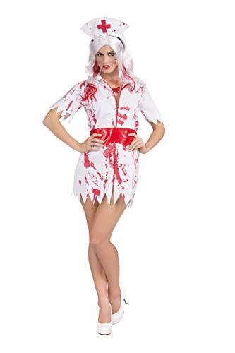 Vestido Disfraz Traje de Enfermera...