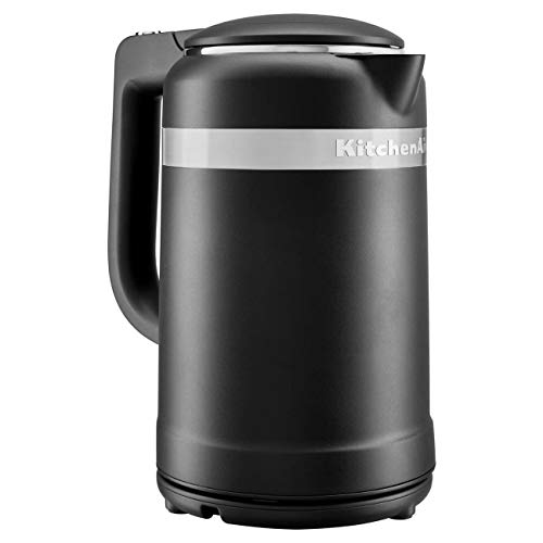 KitchenAid Design Collection Wasserkocher Matt Schwarz 1,5 l