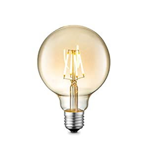 Home Sweet Home LED lampe globus G95 6W 650Lm 2700K Dimmbar - Bernstein