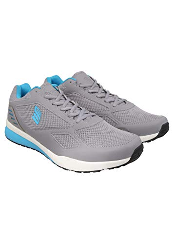 Skora Men's CAD Grey/T.Blue Running Shoes-8 UK/India (42 EU) (SK18-5027-8)