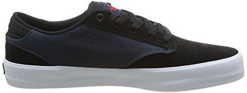 DVS Daewon 14, Herren Skateboardschuhe Blau (Navy/Blk Suede)