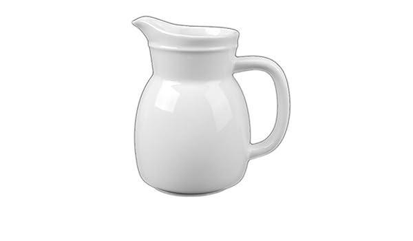 wei/ß Holst Porzellan AUB 100 FA1 Gie/ßer//Krug 1,0 l Auberge 10 x 10 x 18 cm