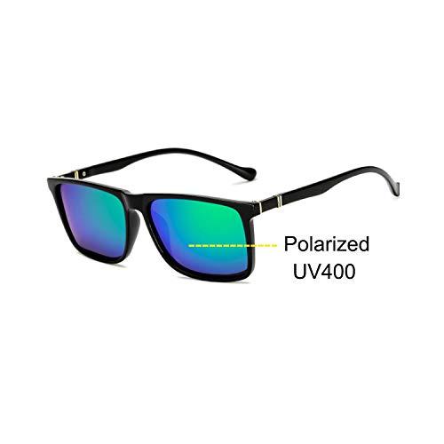 Sport-Sonnenbrillen, Vintage Sonnenbrillen, Männer's Sunglasses Male Driving HD Polarized Sun Glasses Outdoor Sports Anti-Glare Safety Glasses Luxury Brand Designer Oculos bright green