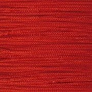 Schmuckkordel, 0,5 mm, 50 g / ~ 120 m, rot