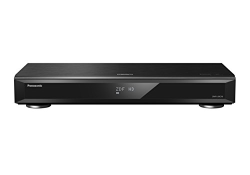 Panasonic DMR-UBC90EGK Ultra HD Blu-ray Recorder (2TB HDD, 4K Blu-ray Disc, UHD TV Kabelempfang, 3x DVB-C/DVB-T2 HD Tuner) (Dvd-player-rekorder Mit Hdmi)