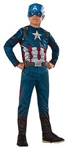 Avengers- Capitán América Classic Civil War Disfraz para niños, M (5-7 años) (Rubie