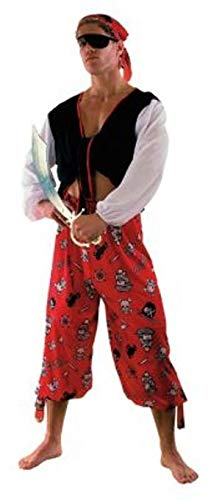 Prezer Pirat Karibik - Südsee Piraten Kostüm