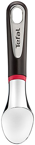 Tefal Ingenio K20722 Eisportionierer, 26 cm, Kunststoff, schwarz/rot