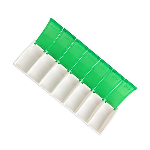 PiniceCore Wöchentliche Pill Cases Medizin-Speicher für Woche Tablet Sorter Dispense Box Container täglich Pillen Fall für gesunde Plastikbox (Pille Sorter Box)