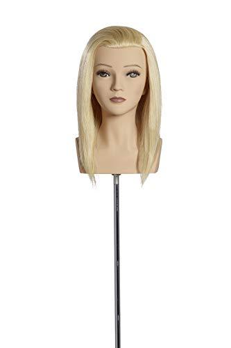 Übungskopf Sandra 30 cm lichtblond Limage - Wettbewerb Mannequin