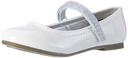 Indigo Girls' 424 080 Ballet Flats, Weiß (White Patent), 1