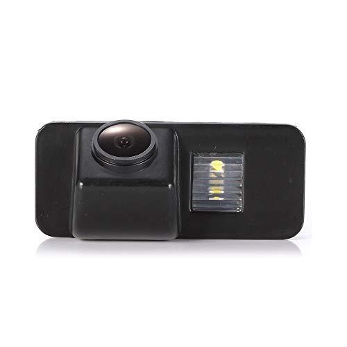 Navinio HD Auto Rückfahrkamera Einparkkamera Kamera Einparkhilfe Farbkamera Rückfahrsystem Wasserdicht für Ford Mondeo MK4 Fiesta S-Max Kuga Everest Focus 2 Hatchback Facelift C307 170 Grad
