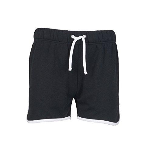 SF Men Retro Shorts - Black/ White - M (Frauen Skate-shorts)