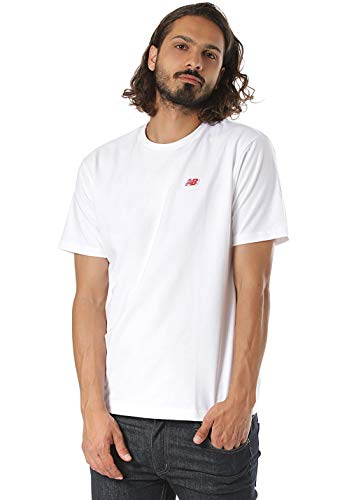 New Balance Essentials Legacy T-Shirt Herren weiß, L -