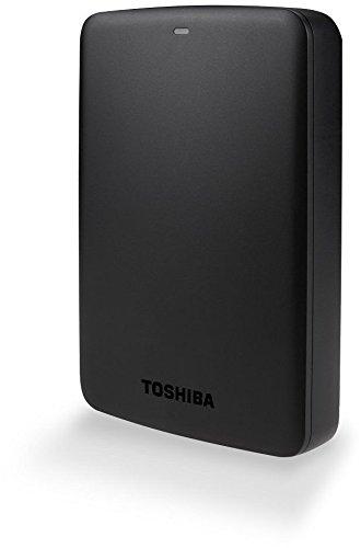 Toshiba Canvio Basics 3 TB Mobile Festplatten (6,4 cm (2,5 Zoll), USB 3.0) schwarz
