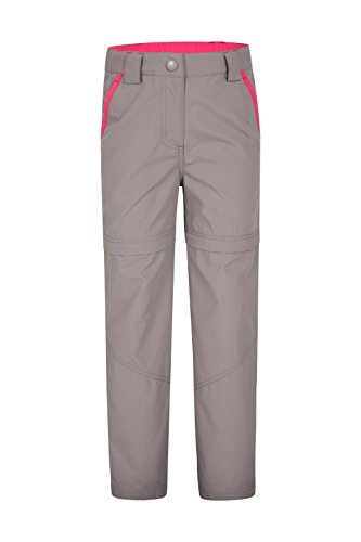 Mountain Warehouse Active Girls Convertible Trousers Dark Grey 13 years
