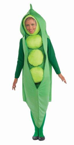Forum Gemüse Erbse Kostüm für Erwachsene -