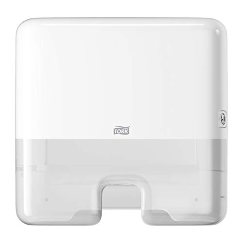 Cubo de basura con tapa Tork 564000 color blanco 5 l