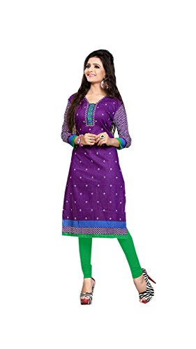 Nakoda Creation 3/4 sleeve Ethnic Print V Neck Cotton Kurti for Women,Multicolor_931(L)