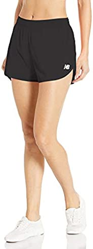 new balance Women's Accelerate Short 2.5 in 55% Recycled, 45% Polye