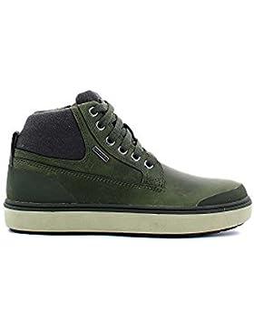 Geox Mattias Abx C, Jungen Hohe Sneakers