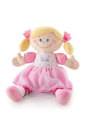 (Trudimia 64075 - Stoffpuppe Ballerina 30 cm, rosa)